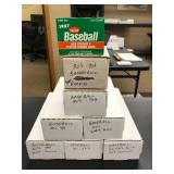 Large Lot of Baseball Cards ( approximately 5000 cards, see photos for details )