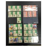 Lot of Vintage Topps Football Cards ( see photos for details )