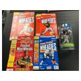 Lot of wheaties Boxes and Torii Hunter Bobblehead
