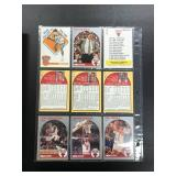 Chicago Bulls Encyclopedia With Complete 1990 Hoops Team Set