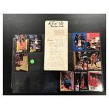 1990-91 hoops basketball set plus Michael Jordan cards ( see photos for details )