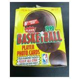 1990 Fleer Basketball 36 Count Box ( Packs Sealed )