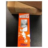 Lot of 3 boxes of Titleist Wheaties Tiger Woods Golf Balls