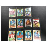 Lot of 11 Vintage Football Cards ( see photos for details )