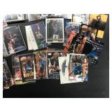 Large Lot of Kevin Garnett Cards rookies included ( see photos for details )