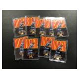 Lot of 9 Kevin Garnett Rookie Cards ( see photos for details )