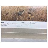 25th anniversary Leslie Kouba Signed Pheasant Print