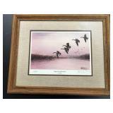 25th anniversary Leslie Kouba Signed Geese Print