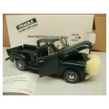 DANBURY MINT 1/24 SCALE - 1953 CHEVROLET PICKUP - NEW IN BOX!!!!! -  AWESOME PIECE!!!!! - SEE PICTURES!