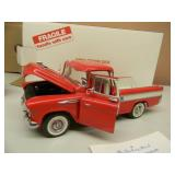 DANBURY MINT 1/24 SCALE - 1957 CHEVROLET CAMEO CARRIER - NEW IN BOX!!!!! -  AWESOME PIECE!!!!! - SEE PICTURES!