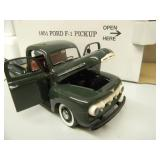 DANBURY MINT 1/24 SCALE - 1951 FORD F-1 PICKUP - NEW IN BOX!!!!! -  AWESOME PIECE!!!!! - SEE PICTURES!