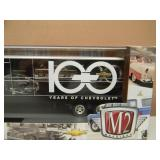 M2 MACHINES 100 YEARS OF CHEVROLET 1958 SPARTAN LCF & TRAILER - VERY COOL PIECE! - SEE PICTURES!