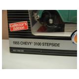 ERTL AMERICAN MUSCLE 1/18 SCALE DIE CAST - 1955 CHEVY 3100 STEPSIDE - NEW IN BOX! - AWESOME! - SEE PICTURES!