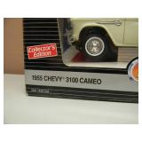 ERTL AMERICAN MUSCLE 1/18 SCALE DIE CAST - 1955 CHEVY 3100 CAMEO - NEW IN BOX! - AWESOME! - SEE PICTURES!