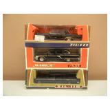 ZIL 117 & 115 WITH TA3-13 RARE!!!!! - MADE IN USSR - CCCP - SOVIET CARS - DIE CAST 1/43 SCALE - RARE AWESOME SET!!!!!