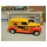 LIBERTY SPEC CAST 1940 FORD SEDAN DELIVERY, FORD MODEL A DELIVERY VAN, FORD MODEL A CHOPPED COUPE STREET ROD & FORD MODEL A CHOPPED COUPE STREET ROD - BACK TO THE 50s - NEW IN BOX! - SEE PICTURES!