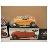 3 LIBERTY SPEC CAST 1934 FORD ROADSTER STREET ROD 25TH ANNIVERSARY - 4TH EDITION - BACK TO THE 50s - NEW IN BOX! - SEE PICTURES!
