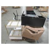 WHOLESALE MIXED PALLET OF MICELLANOUS TABLE, NIGHTSTANDS AND CABINETS!