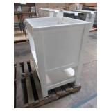 Home Decorators Collection Gazette 24 in. W x 21-3/4 in. D Bath Vanity Cabinet Only in White GAWA2422