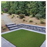 Trafficmaster Premium Landscape 7.5 ft. x 13 ft. Artificial Grass Rug 566402