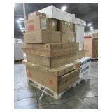 WHOLESALE MIXED PALLET OF MICELLANOUS BATHROOM/LAUNDRY SINKS AND OTHER REMODEL ITEMS!