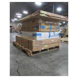 WHOLESALE MIXED PALLET OF KITCHEN WALL AND BASE CABINET PARTS!