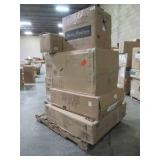 WHOLESALE MIXED PALLET OF BATHROOM CABINETS AND OTHER REMODEL ITEMS!