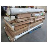 WHOLESALE MIXED PALLET OF MICELLANOUS INTERIOR/EXTERIOR DOORS, RUGS AND MORE!