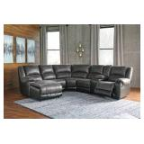 Ashley Furniture Nantahala 6-piece Reclining Sectional in Slate - BRAND NEW - $1,400 RESERVE!!!