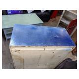 Metal Garage/Shop Storage Cabinet w/Wheels