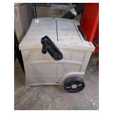 Suncast Hose Storage Cart