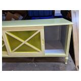 Cheerful Country Yellow Storage Cabinet