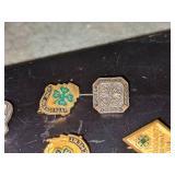 Vintage 4H Pins