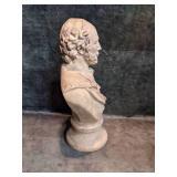 William Shakespeare Resin Bust