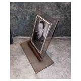 Antique Lucite Picture Frame w/Stand, Early 1800