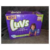 Luvs Size 4 Triple Leakguard Diapers