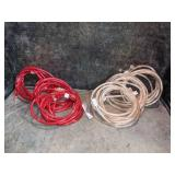 Red & White Rope Lights