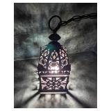 Rustic Hanging Lantern Light