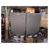 SONY SPEAKER SYSTEM Model: SS-G2000 Twin 3-Way Speakers