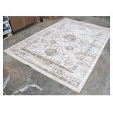 Threshold 7 x  10 Vintage Tan Distressed Rug