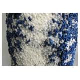 Gertmenian 7ft 10in X 10ft Bali Shag Blue White Area Rug