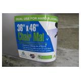 "36"" x 46"" Clear Home Office Chair Mat"