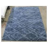 Gertmenian Soft Step 7ft 10in X 10ft Blue Area Rug