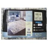 Gertmenian Brio 6ft 6in x 9ft Madison Blue Grey Ivory Area Rug