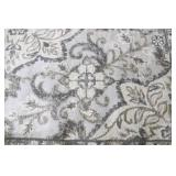 Gertmenian Torino 7ft 10in X 10ft Jaya Grey Medallion Floral Area Rug