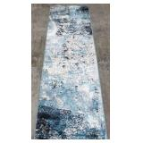 Carmel Indoor/Outdoor 2ft x 7ft Carmel Blue Carpet Runner