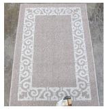 Mohawk Home New Generation 30in x 45in Beige Cream Accent Rug