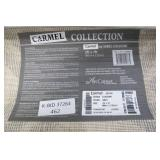 Art Carpet Carmel 2ft x 7ft Grey White Area Runner Rug