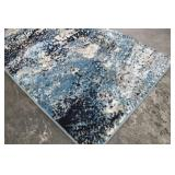 Art Carpet Carmel 2ft x 7ft Carmel Blue Runner Rug Made in Turkey