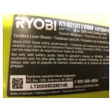 Lot of 4 Ryobi Mowers TOOL ONLY NOT CHECKED Customer Returns See Pictures